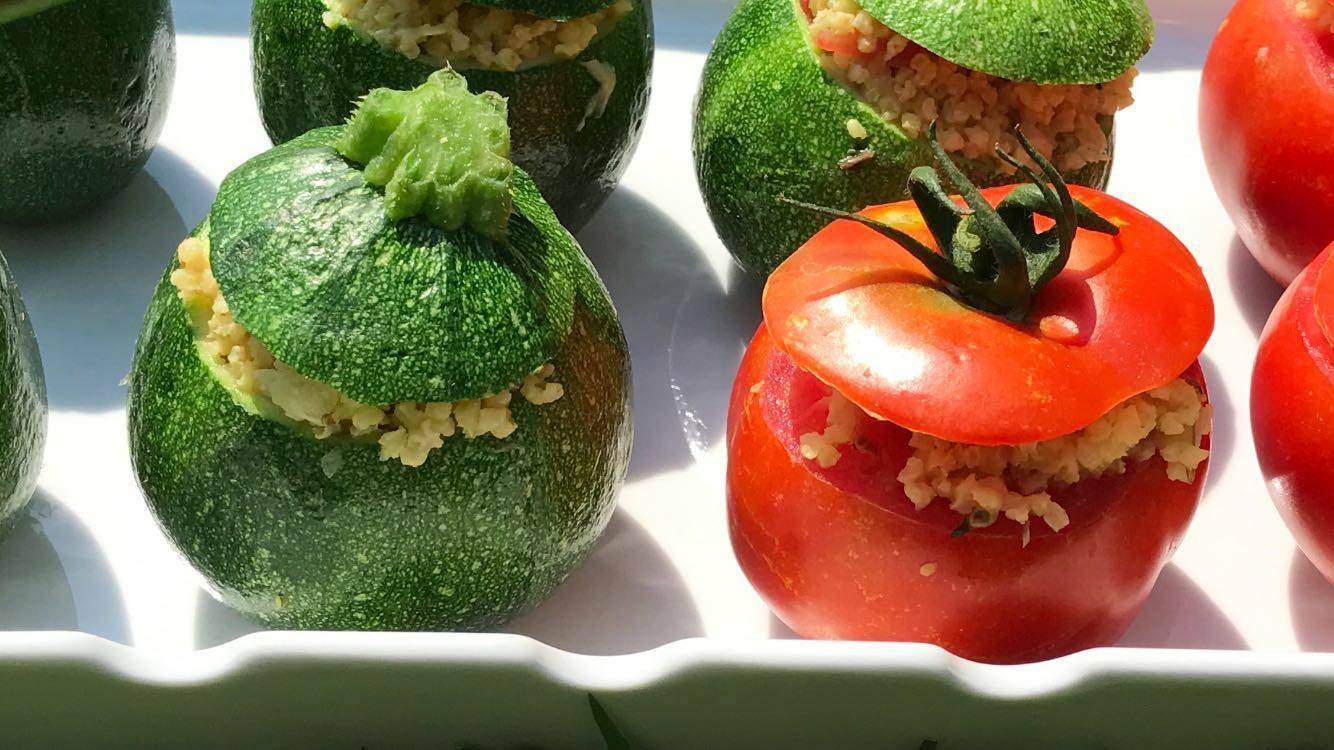pomodori ripieni alla quinoa