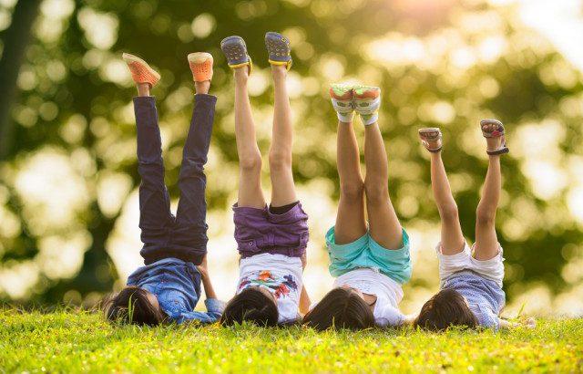 natura e bambini sana alimentazione