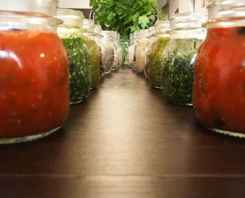 corso cucina naturale online condimenti