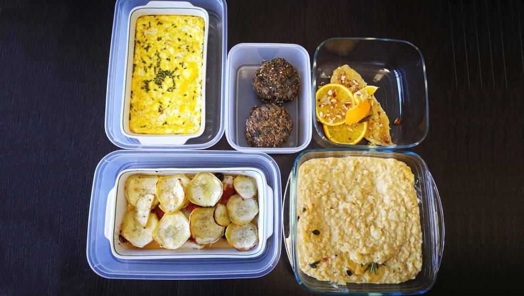 corso batch cooking cucina naturale online cucina veloce