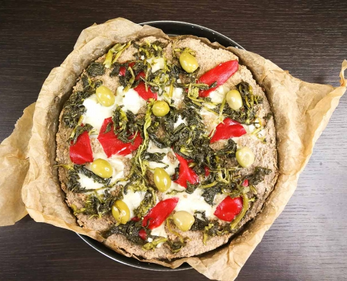 pizza proteica impasti fit low carb